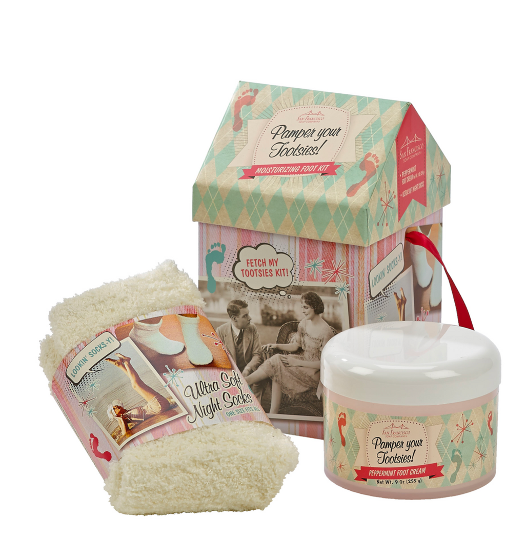 peppermint: foot care kit