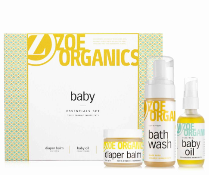 baby essentials kit- ZOE ORGANICS