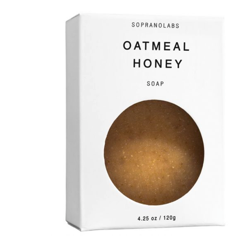 OATMEAL HONEY  SOAP: Sopranolabs