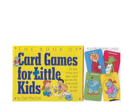 The Book of Card Games for Little Kids
