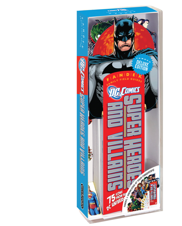 DC Comics Super Heroes and Villains: Fandex Deluxe