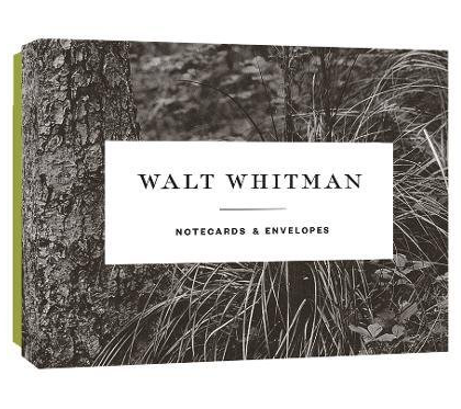 Walt Whitman note cards