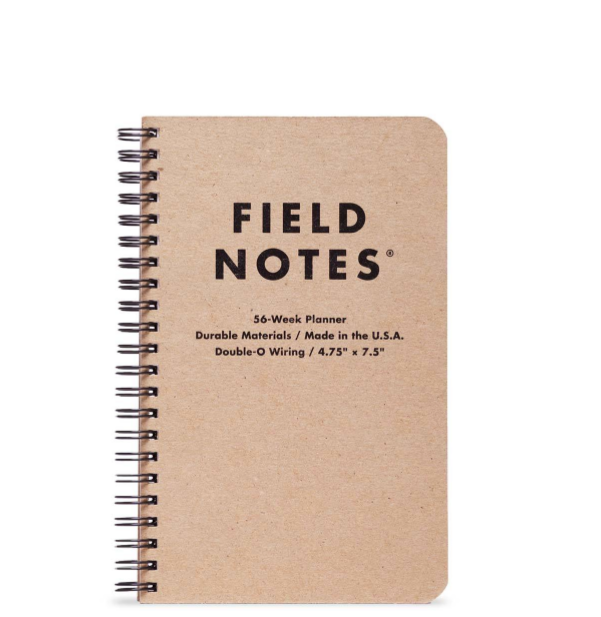 FIELD NOTES: 56 week planner