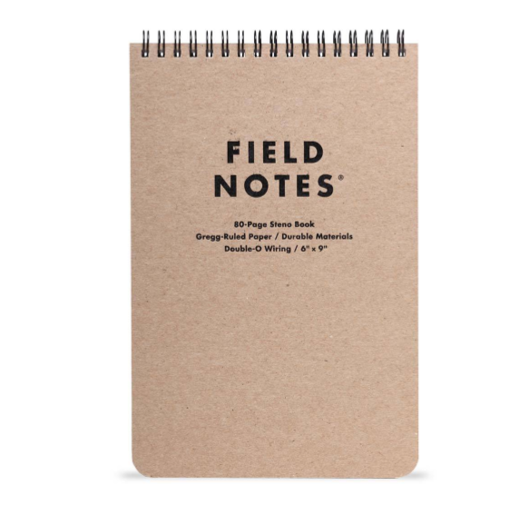 FIELD NOTES: steno - 80 page
