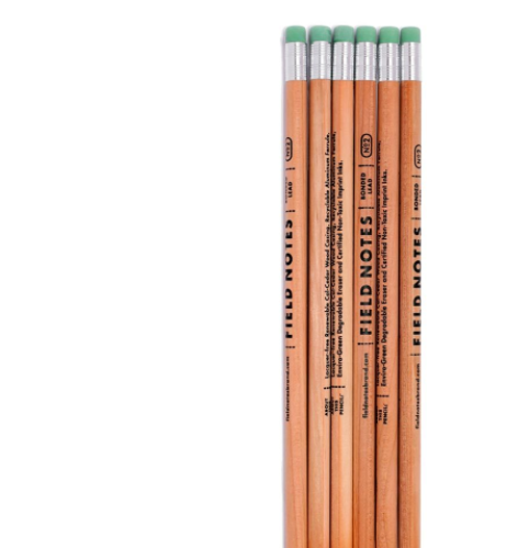 Field Notes: woodgrain pencils 6 pack