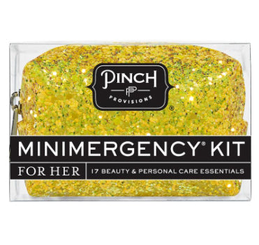 yellow glitter minimergency