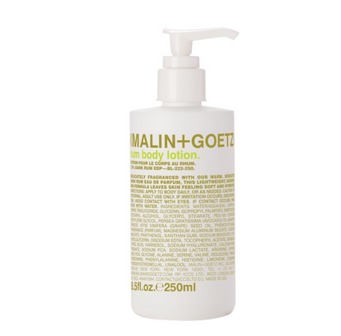 MALIN+GOETZ: rum body+ hand lotion