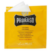 PRORASO Cologne Towelettes-Wood & Spice