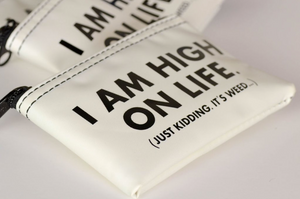 high on LIFE zip pouch