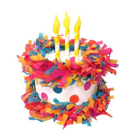 Birthday Cake Mini Piñata