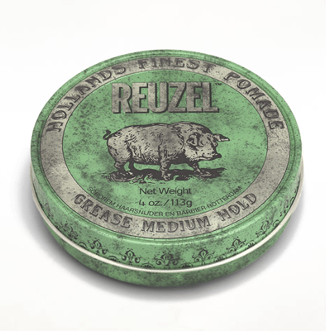 REUZEL: GREEN pomade (grease medium)