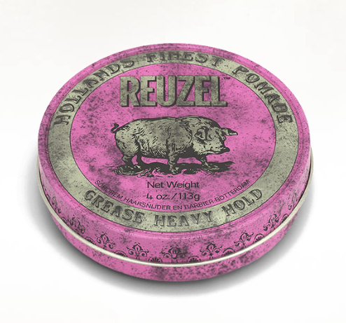 REUZEL: PINK pomade (grease heavy)