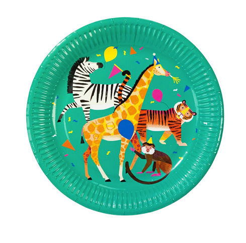 party animal: party plate