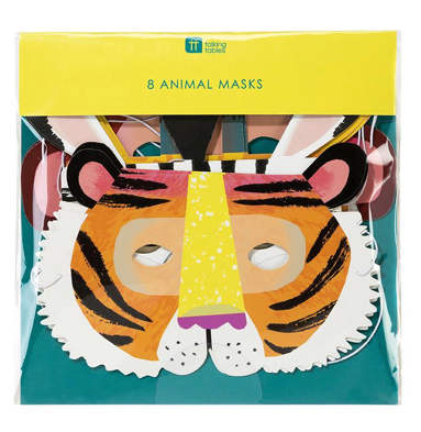 party animal: paper masks