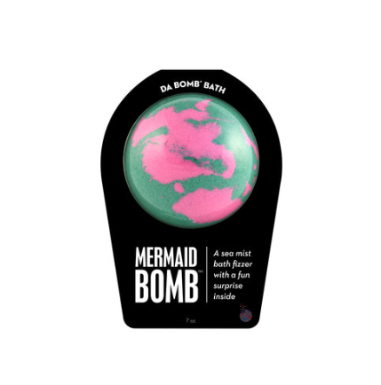 Mermaid daBomb: bath bomb
