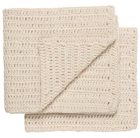 homespun dish towel