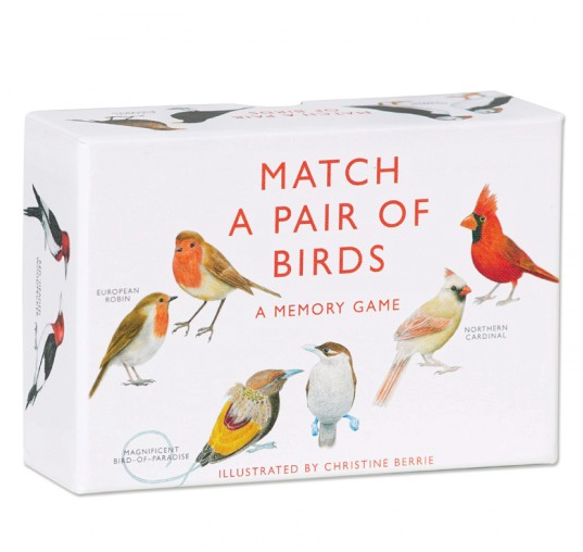 bird match cards