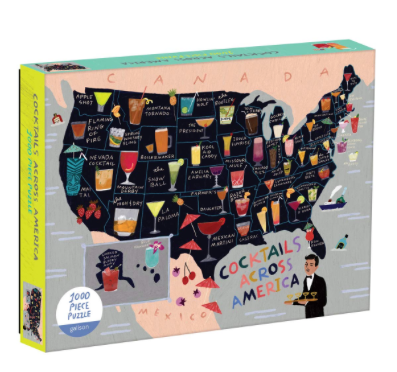 cocktails of the USA puzzle