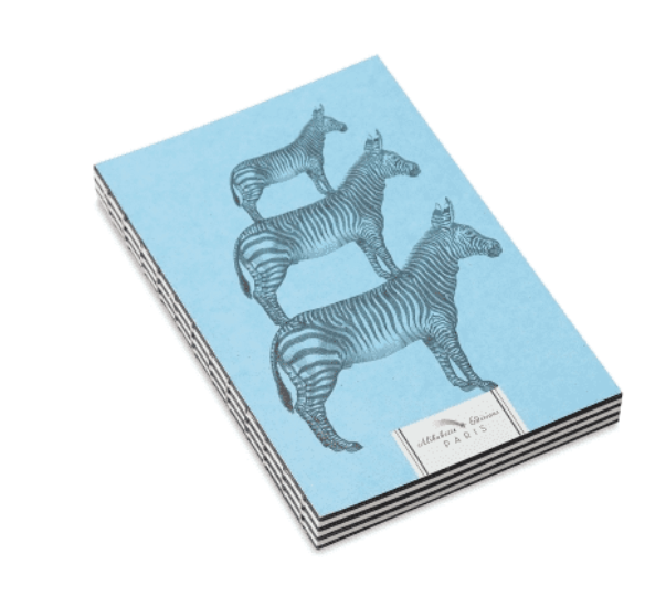 Alibabette Paris Journals/artbook Zebras