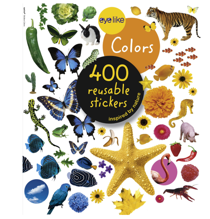 Colors: EYELIKE sticker book