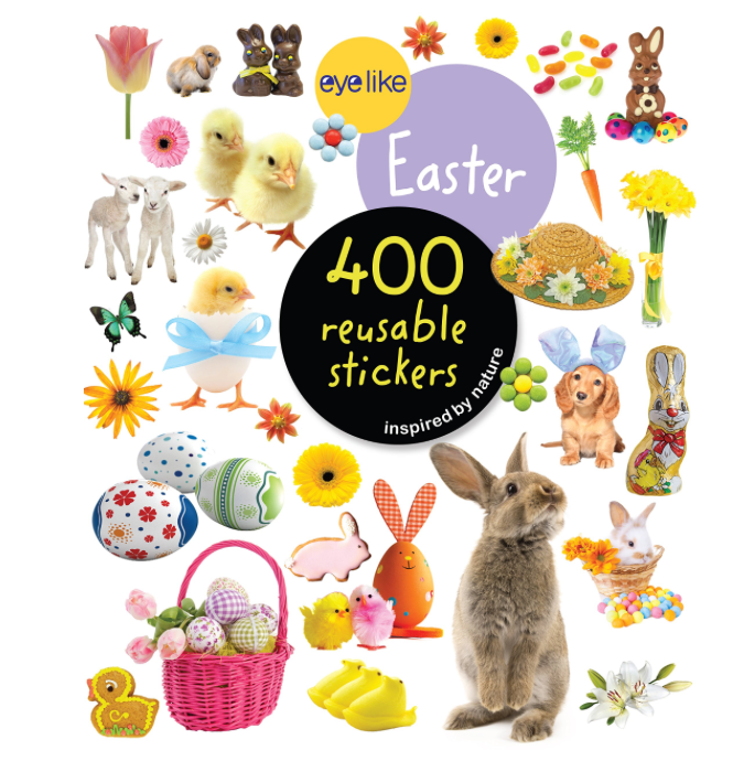 Easter: EYELIKE: sticker book