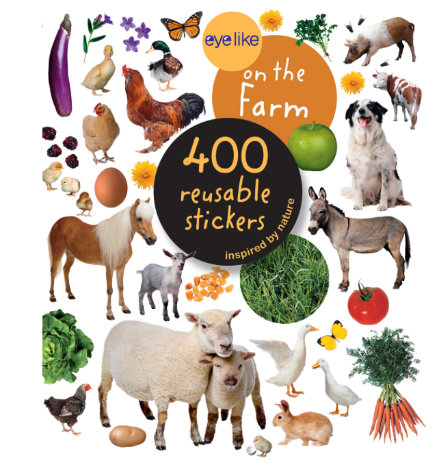 Farm Animals: EYELIKE: sticker book