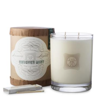 Crushed Mint, 2-wick Candle