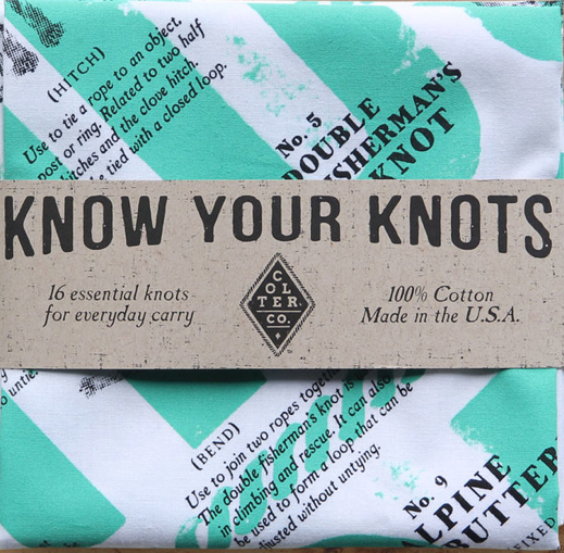 know your knots bandana