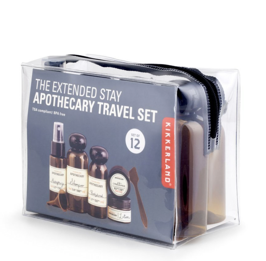 Apothecary Travel Set (set of 12)