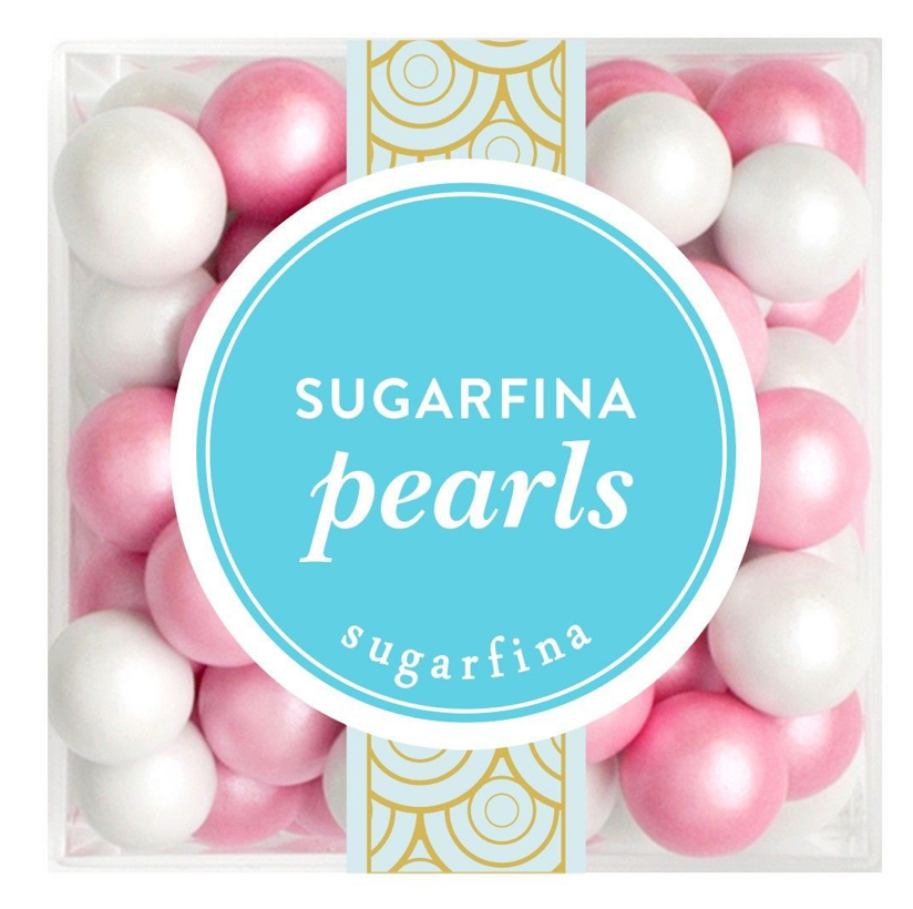 pink chocolate pearls