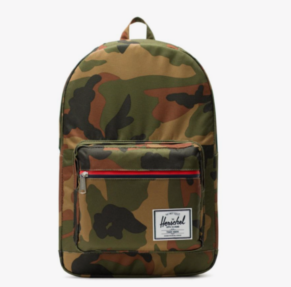 camo pop quiz backpack: Herschel