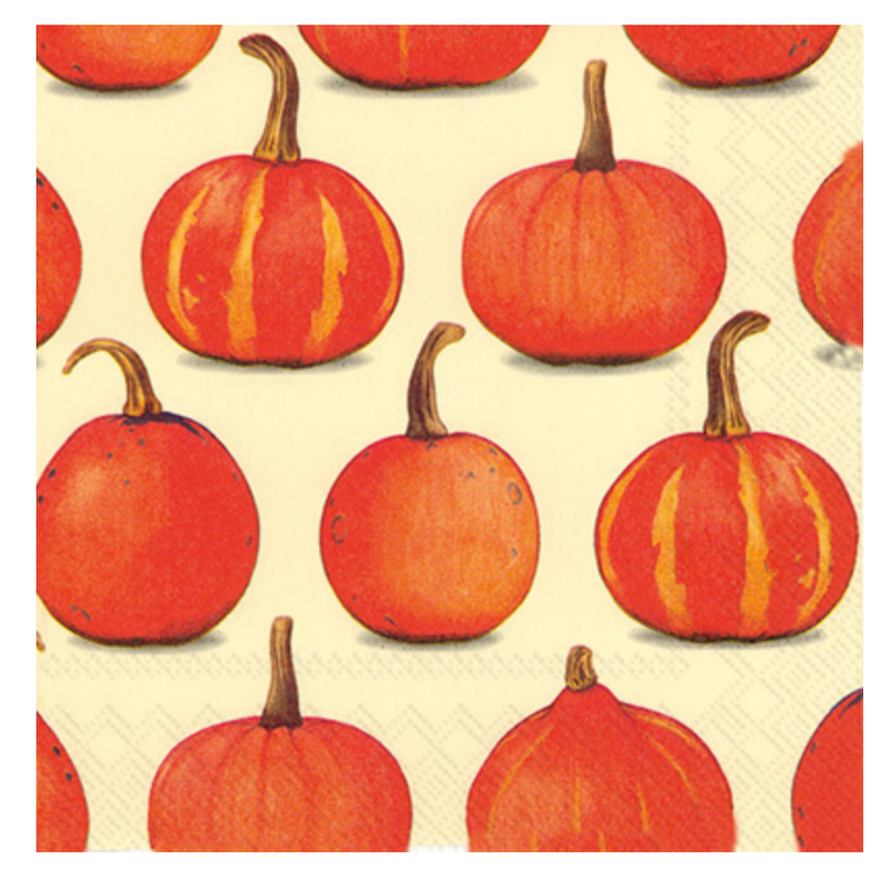 pumpkin: lunch napkin