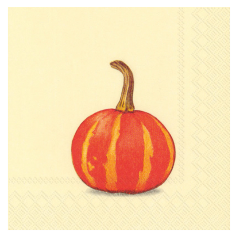 pumpkin: cocktail napkin
