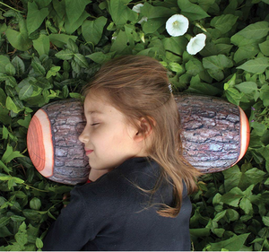 kikkerland: log pillow