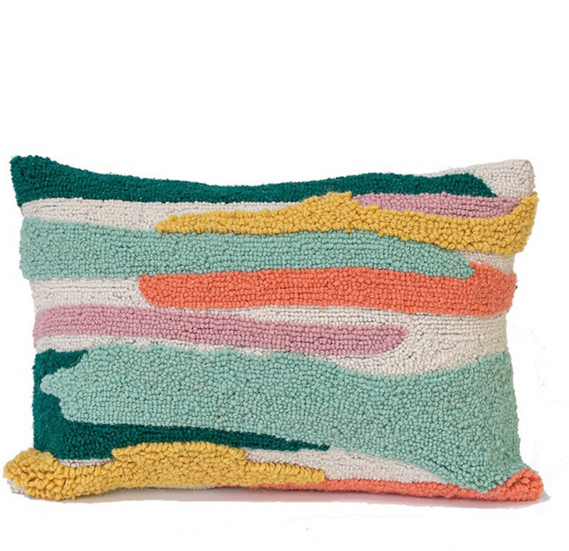 Abstract Fields Pillow