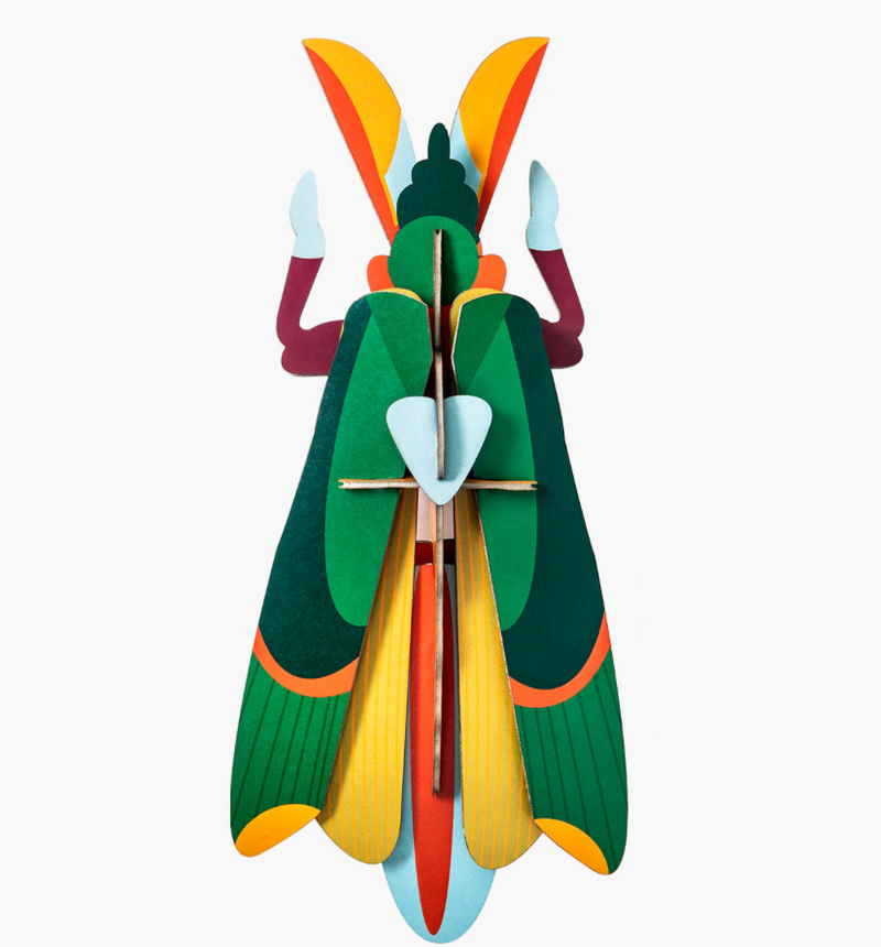 grasshopper wall art KIT