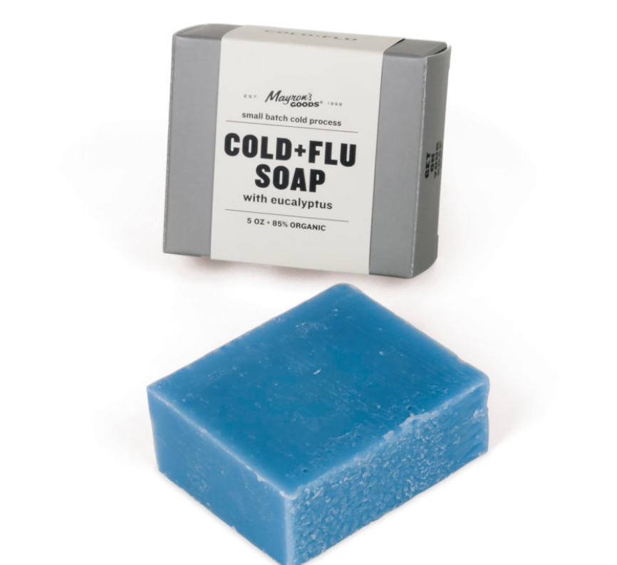 cold + flu soap