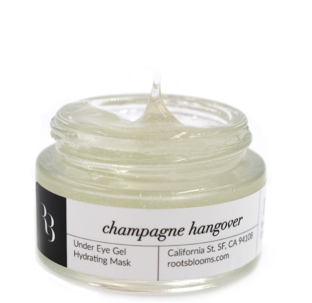 Champagne Hangover Eye Mask
