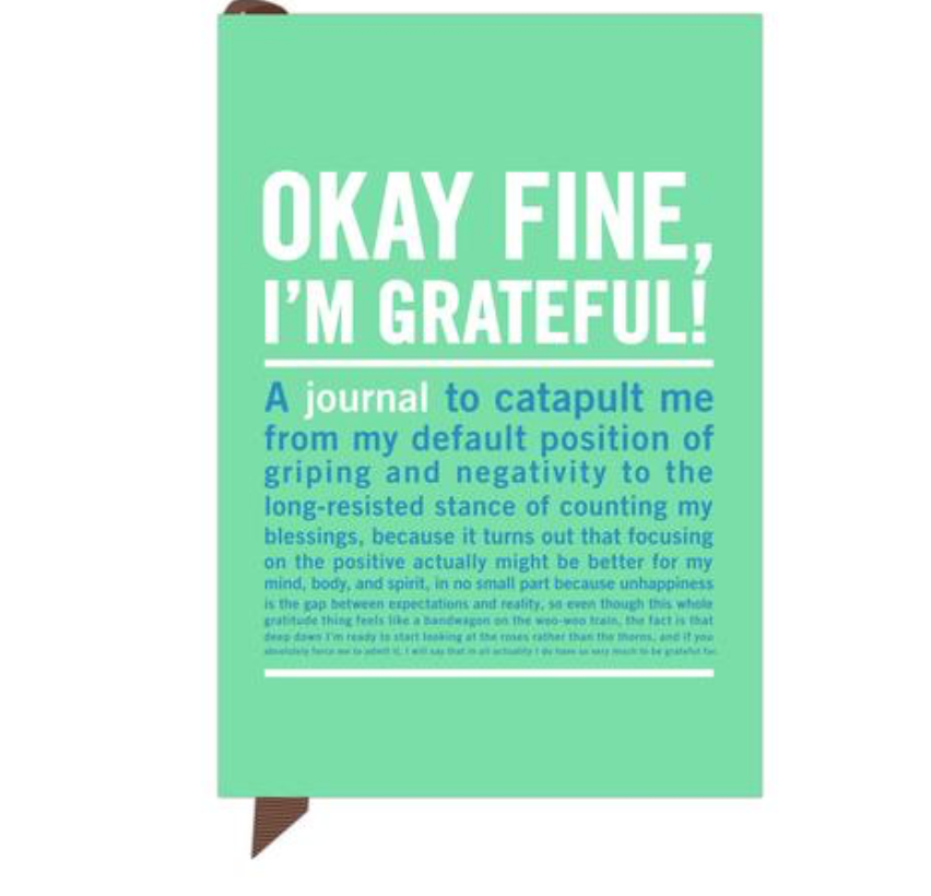 Okay Fine, Im Grateful  Mini Inner-Truth® Journal