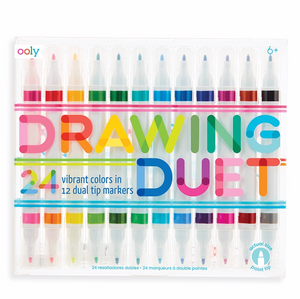 duet double ended marker