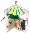 pop up carousel of animals