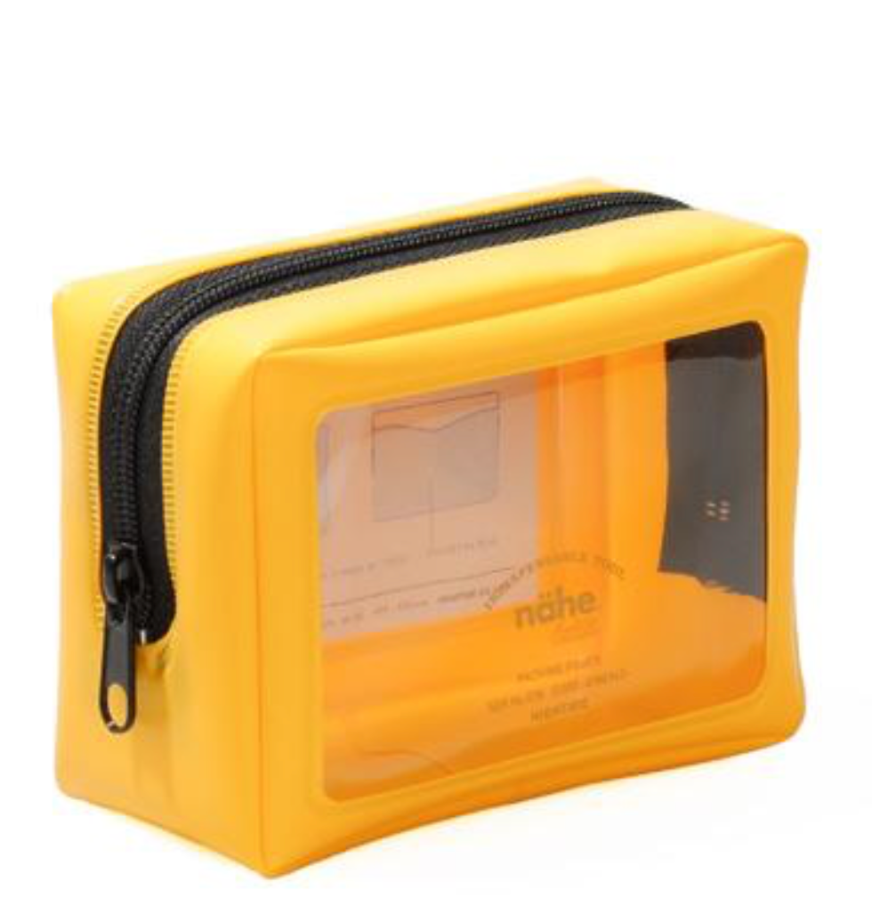 yellow: nähe packing pouch SS