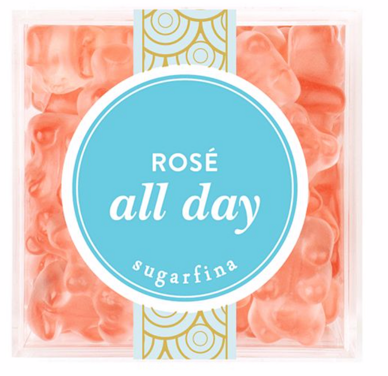 Rosé all day gummies