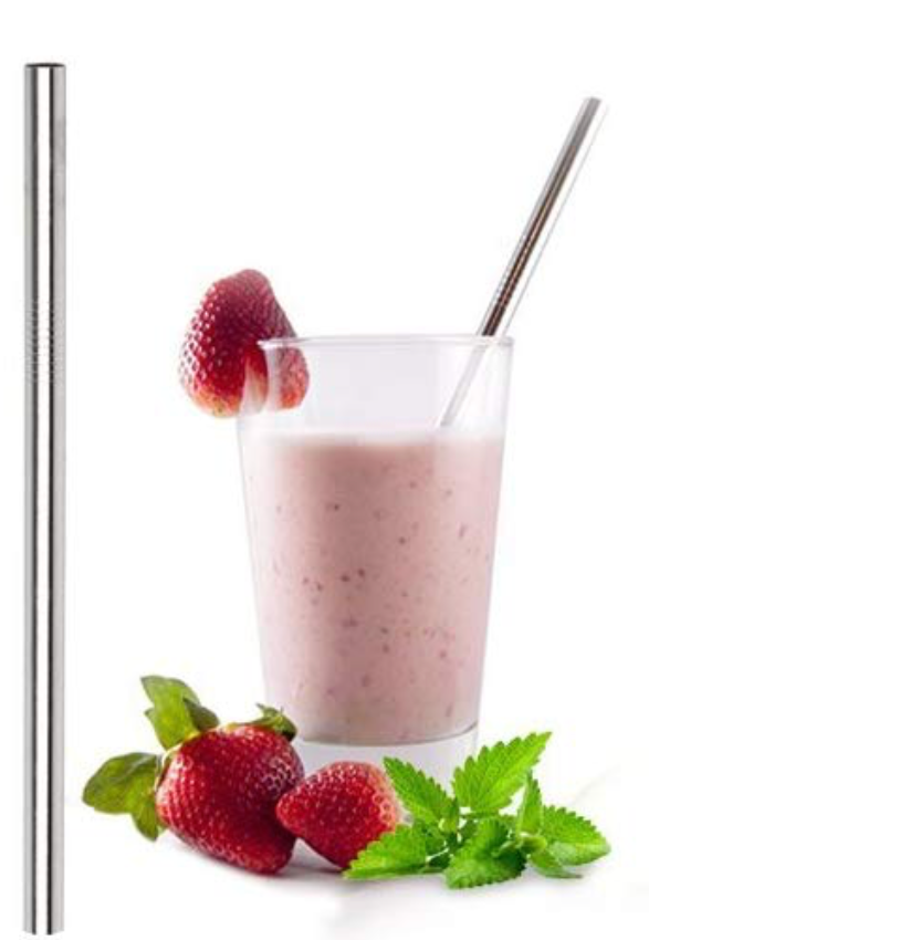 smoothie metal straw