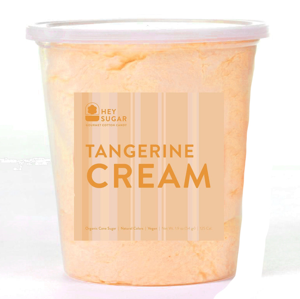 Tangerine Cream  Cotton Candy