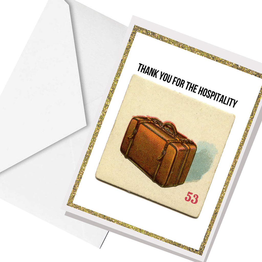 hospitality... greeting card