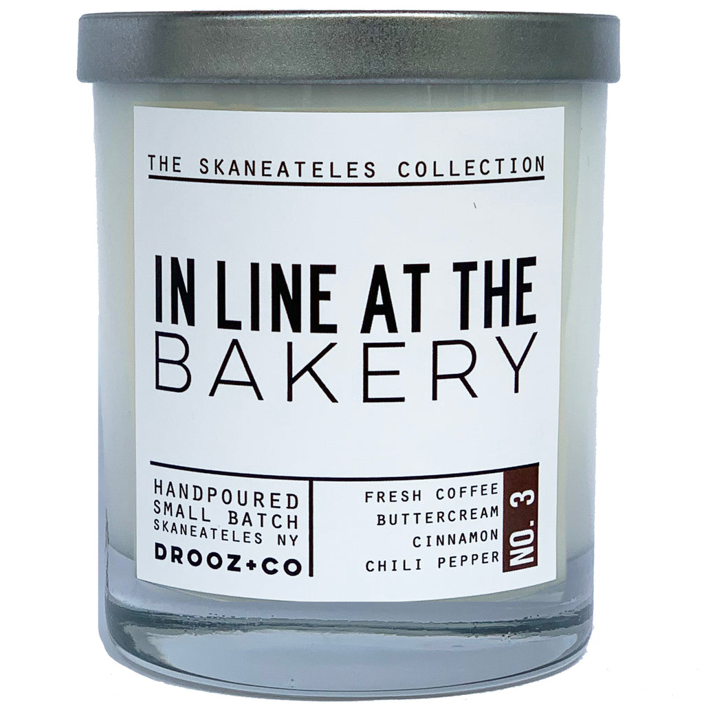 In Line at the Bakery {Skaneateles Collection} DROOZ candle No.3
