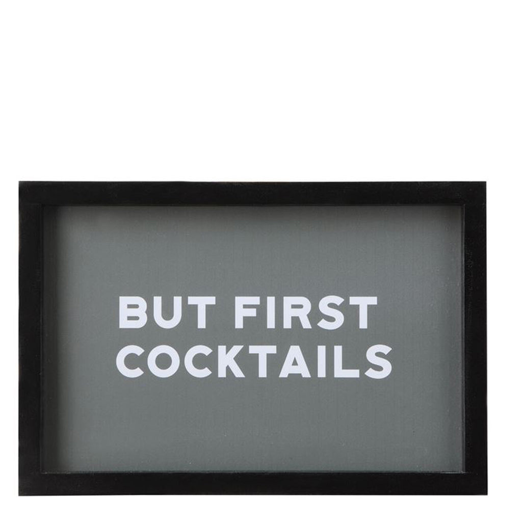 but first cocktails: wall art