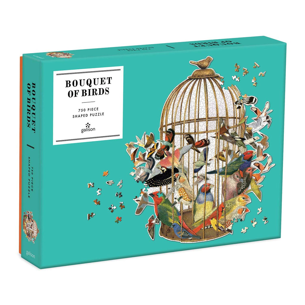 Bouquet of Birds Shaped Puzzle