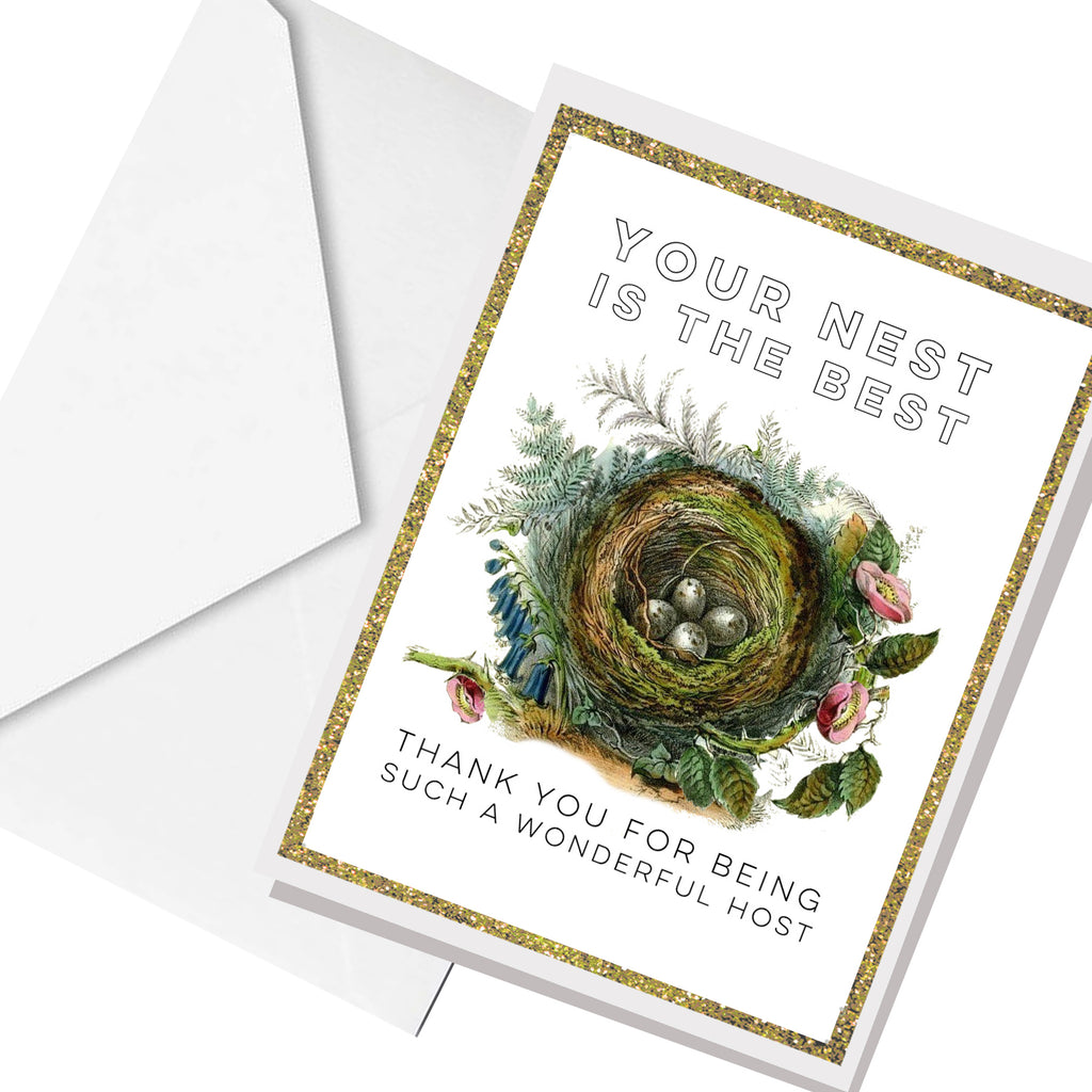 best nest ... greeting card